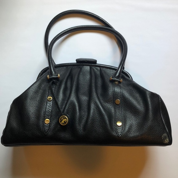 43ca64ee4d Brooks Brothers Bags | Black Leather Handbag | Poshmark